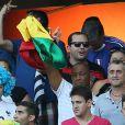 La famille de Paul Pogba lors du match entre la France et la Suisse, le 20 juin 2014 à l'Arena Fonte Nova de Salvador de Bahia
