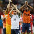 Mathieu Valbuena lors du match entre la France et la Suisse, le 20 juin 2014 à l'Arena Fonte Nova de Salvador de Bahia