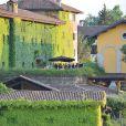 Eros Ramazzotti et Marica Pellegrinelli se sont mariés à la Villa Sparina à Monterotondo di Gavi, Italie, le 21 juin 2014