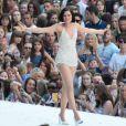 Jessie J sur scène à Wembley lors du Capital FM Summertime Ball. Londres, le 21 juin 2014.