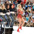 Rita Ora sur scène à Wembley lors du Capital FM Summertime Ball. Londres, le 21 juin 2014.