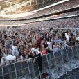 Le stade de Wembley, plein à craquer pour le concert Capital FM Summertime Ball. Londres, le 21 juin 2014.