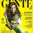 Izabel Goulart en couverture du numéro de juin 2014 du magazine brésilien Istoé Gente.