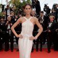 Izabel Goulart sur le tapis rouge du Festival de Cannes. Le 21 mai 2014.