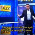 Benjamin Castaldi sur le plateau de Joker (émission pilote tournée en mai 2014 pour France 2).
