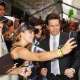Mark Wahlberg lors de l'avant-première à New York de Transformers - l'Age de l'extinction, le 25 juin 2014