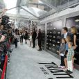 Mark Wahlberg et sa femme Rhea Durham en famille lors de l'avant-première à New York de Transformers - l'Age de l'extinction, le 25 juin 2014