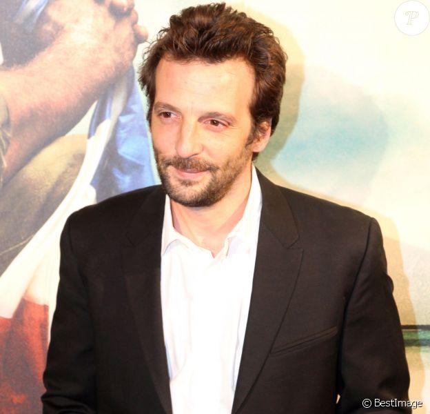 Mathieu Kassovitz à Paris le 8 novembre 2011.
