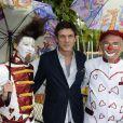 Marc Lavoine participe à l'ouverture de la fête des Tuileries 2014 à Paris, le 27 juin 2014.