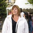 Michèle Bernier participe à l'ouverture de la fête des Tuileries 2014 à Paris, le 27 juin 2014.