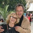 Nicoletta et son mari Jean-Christophe - Ouverture de la fête des Tuileries 2014 à Paris 27/06/2014 - Paris