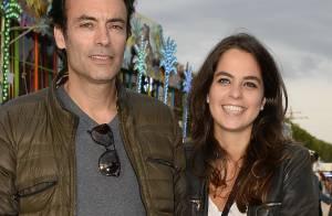 Anthony Delon et Anouchka, belle et amoureuse : Comme des enfants aux Tuileries