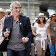 Raymond Domenech, au 2e Trophée de la Pétanque Gastronomique à Paris, le 27 juin 2014.