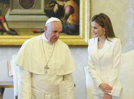 Felipe d'Espagne : Letizia lumineuse pour leur rencontre avec le pape François