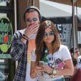 Lucy Hale et Joel Crouse à Studio City, Los Angeles, le 8 mai 2014.