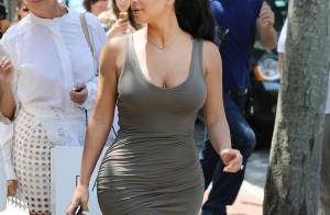 Kim Kardashian : Sexy même en famille pour une virée girly