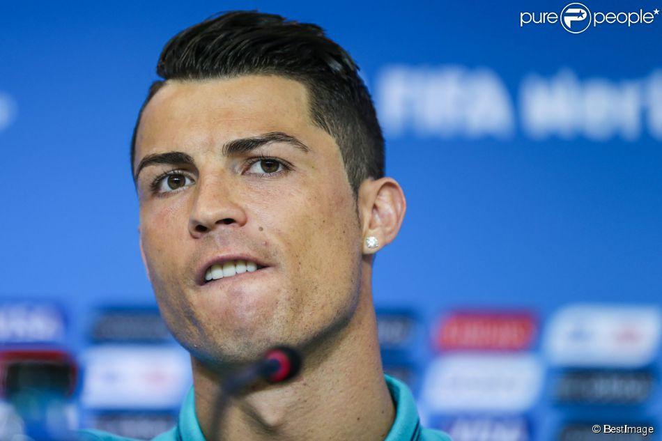Cristiano Ronaldo à Salvador le 15 juin 2014