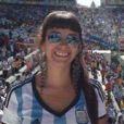 La journaliste María Soledad Fernández, morte le 2 juillet 2014 au Brésil à 26 ans.