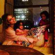Mariah Carey et ses enfants Monroe et Moroccan, jeudi 2 juillet à New York.