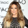 La jolie Khloe Kardashian fête son trentième anniversaire au nightclub Tao à Las Vegas Le 05 Juillet 2014