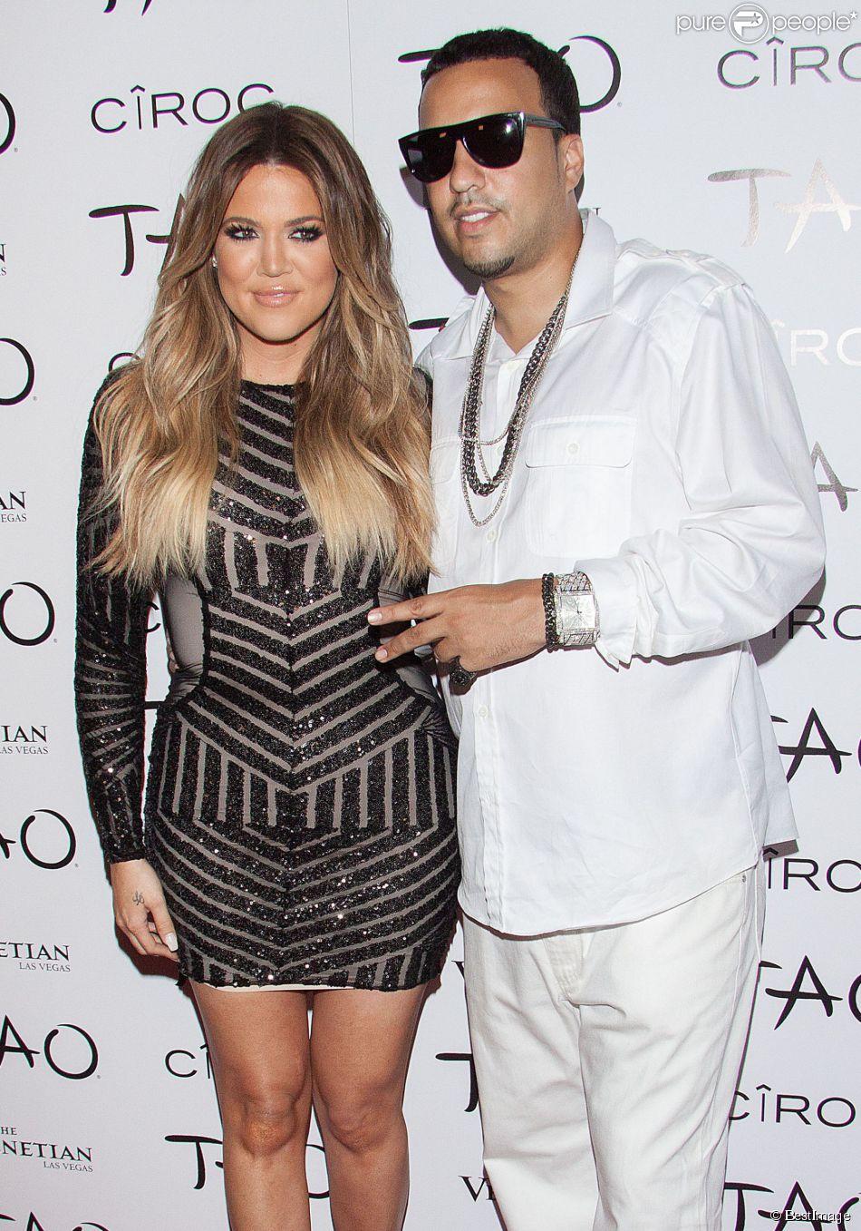 Khloe Kardashian et French Montana - Khloe Kardashian fête son trentième anniversaire au nightclub Tao à Las Vegas Le 05 Juillet 2014