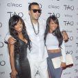 Malika Haqq, Khadijah Haqq et French Montana - Khloe Kardashian fête son trentième anniversaire au nightclub Tao à Las Vegas Le 05 Juillet 2014 5