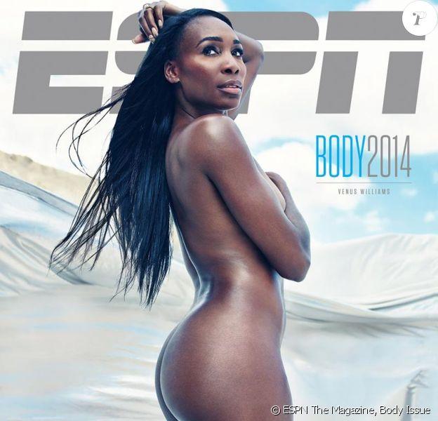 Venus Williams en couverture de ESPN The Magazine, The Body Issue, édition 2014
