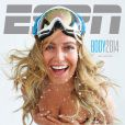 Jamie Anderson en couverture de ESPN The Magazine, The Body Issue, édition 2014
