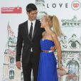Novak Djokovic et Jelena Ristic au 'Love Ball' à l'Opéra Garnier de Monaco le 27 juillet 2013