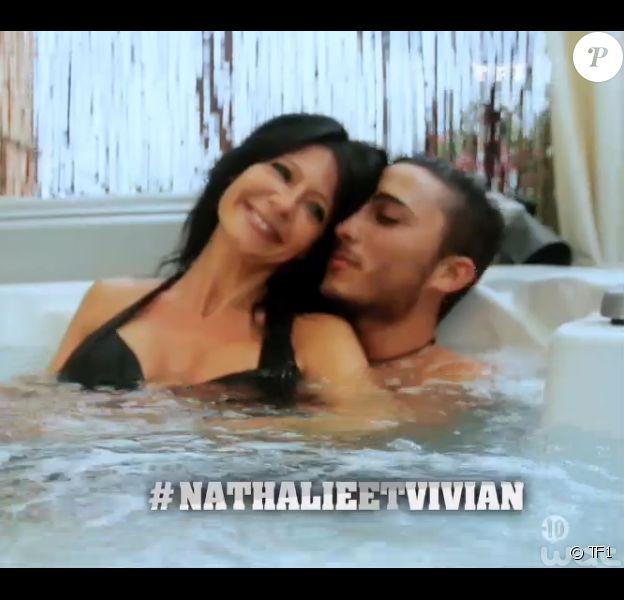 Nathalie et Vivian, candidats de Secret Story 8, dans leur portrait (Secret Story 8, le vendredi 18 juillet 2014.)