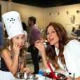 Brooke Burke avec sa fille Heaven, lors de l'événement Junior Chef Academy à Culver City, Los Angeles, le 15 juillet 2014