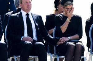 Maxima des Pays-Bas : Bouleversée devant les dépouilles des morts du vol MH17