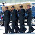 Mercredi 23 juillet 2014 a eu lieu le rapatriement d'une quarantaine de cercueils contenant les dépouilles de victimes du vol MH17 de la Malaysian Airlines, à l'aéroport d'Eindhoven.