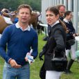 Charlotte Casiraghi au Jumping de Chantilly, neuvième étape du Longines Global Champions Tour, le 26 juillet 2014.