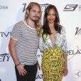 Zoe Saldana et son mari Marco Perego au Festival de Cannes le 18 mai 2014