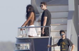 Naomi Campbell : Vacances en mer avec un ami millionnaire