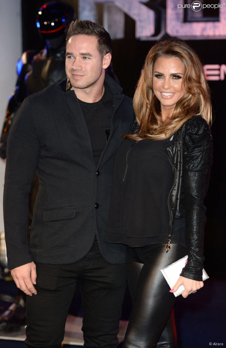 Katie Price et Kieran Hayle à Londres, le 5 février 2014.