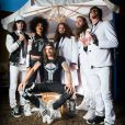Shaka Ponk au Paleo Festival de Nyon, en Suisse, le 25 juillet 2014.