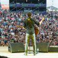 Bastian Baker au Paleo Festival de Nyon, en Suisse, le 22 juillet 2014.
