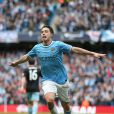 Manchester City's Samir Nasri celebrates scoring during the Barclays Premier League match, Manchester City Vs West Ham United at the Etihad Stadium in Manchester, UK on May 11, 2014. Photo by Lynne Cameron/PA Wirre/ABACAPRESS.COM12/05/2014 - Manchester