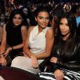 From left, Kylie Jenner, Kendall Jenner, and Kim Kardashian are seen in the audience at Teen Choice 2014 at the Shrine Auditorium on August 10, 2014 in Los Angeles, CA, USA. Photo by Frank Micelotta/PictureGroup/ABACAPRESS.COM11/08/2014 - Los Angeles
