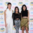 Kendall Jenner, Kim Kardashian and Kylie Jenner at the Teen Choice Awards held at the Shrine Auditorium in Los Angeles, CA, USA, August 10, 2014. Photo by LuMarPhoto/AFF/ABACAPRESS.COM11/08/2014 - Los Angeles