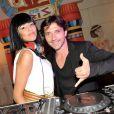 DJ Cleopatra et Sébastien Roch à Paris, le 2 juin 2012.