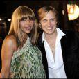 Cathy et David Guetta au palais des festivals de Cannes le 26 janvier 2008 pour les NRJ Music Awards