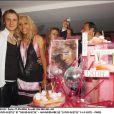 David et Cathy Guetta à La Suite à Paris le 27 mai 2004