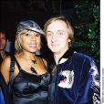 Cathy et David Guetta à l'inauguration de l'Amnesia en 2003