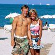 David Guetta et Cathy Guetta à Ibiza en août 2001