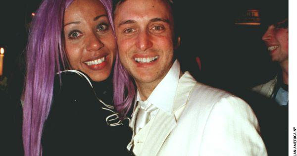 Cathy guetta et david guetta en 1997 f tant l for Aux bains paris