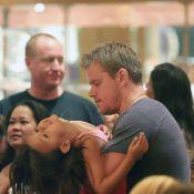 Matt Damon : Un papa tellement craquant pour l'anniversaire de sa petite Gia