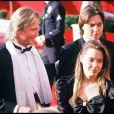 Angelina Jolie et Jon Voight avec James Haven à Los Angeles le 13 avril 1988.